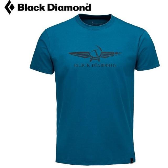 BLACKDIAMOND ブラックダイヤモンド Ms ペレストロイカ ティー メンス゛ クライミンク゛Tシャツ アハ゜レル ライフスタイル (ミッドナイト):BD67584