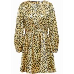 ダイアン フォン ファステンバーグ DIANE VON FURSTENBERG レディース ワンピース ミニ丈 heyford leopard-print silk-blend jacquard mi
