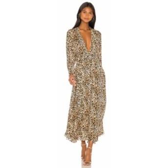 ニコラス NICHOLAS レディース ワンピース マキシ丈 ワンピース・ドレス Maxi Dress Leopard