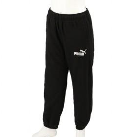プーマ ジュニアキッズ・子供 ツイルロングパンツ ALPHA フリースライニング ウーブン パンツ 580709 01 スポーツウェア : ブラック PUMA