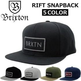 BRIXTON ブリクストン RIFT SNAPBACK キャップ 帽子 スナップバック メンズ レディース 00034