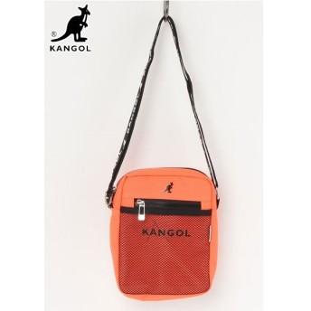 【国内発送】 KANGOL (カンゴール) KGSA-BG00075 SHOULDER BAG (ショルダーバッグ) Orange (オレンジ)