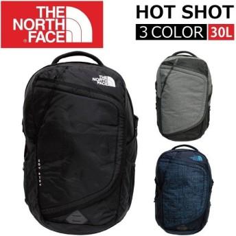 THE NORTH FACE ザ ノースフェイス HOT SHOT ホットショット/リュック リュックサック バッグ バックパック カバン 鞄 メンズ レディース A3 30L