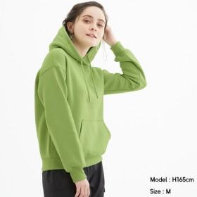 (GU)スウェットプルパーカ(長袖) LIGHT GREEN XL