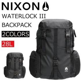 NIXON ニクソン WATERLOCK3 ウォーターロック3 リュック リュックサック バックパック デイパック バッグ メンズ レディース C2812