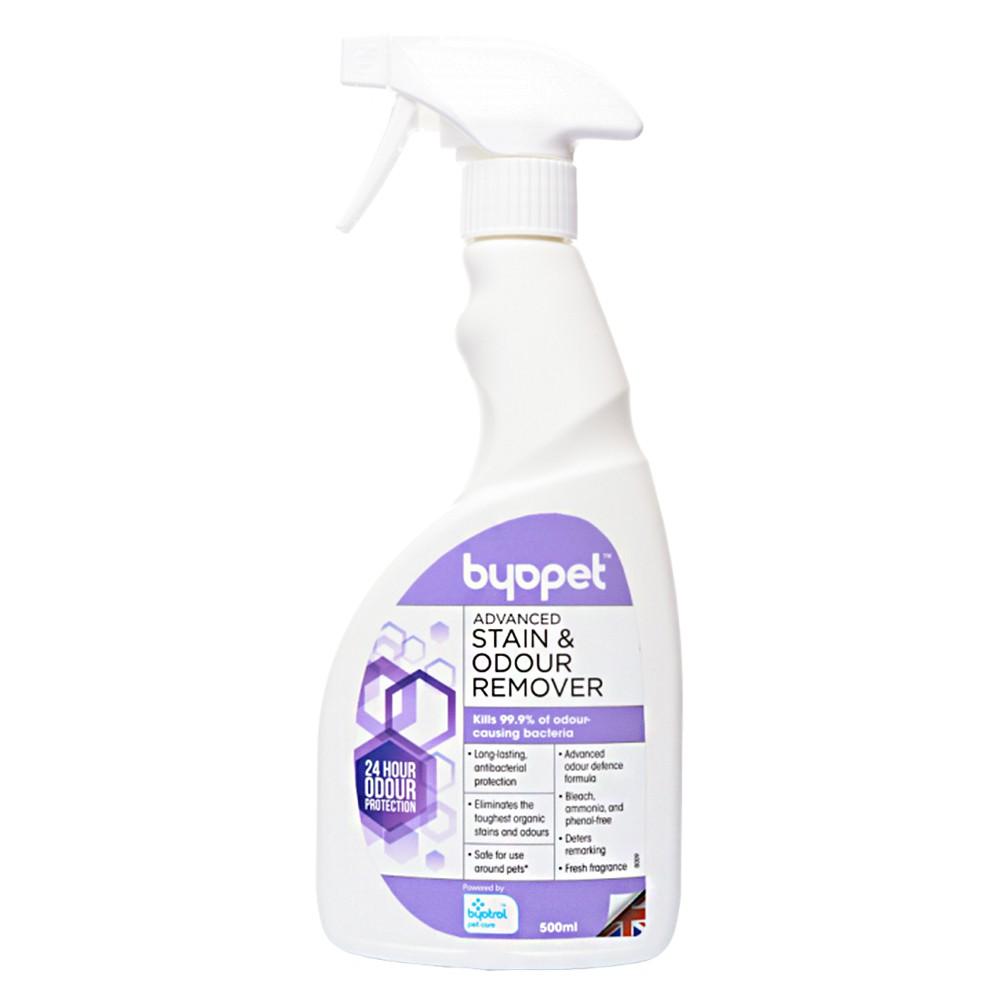 英國Byopet 寵物抗菌/去漬除臭噴劑升級版500ml/8009
