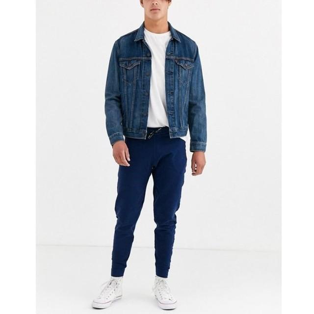 リーバイス Levi's メンズ ジョガーパンツ ボトムス・パンツ tapered logo joggers ブルー