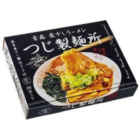 銘店ラーメンシリーズ 青森ラーメン つじ製麺所 (大) 4人前 18セット PB-138
