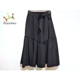 ミラオーウェン Mila Owen ロングスカート サイズ0 XS レディース 美品 ネイビー 新着 20191008