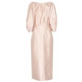 ガブリエラ ハースト Gabriela Hearst レディース ワンピース ミドル丈 ワンピース・ドレス Francisca silk midi dress BLUSH