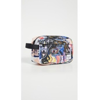 ハーシェル サプライ Herschel Supply Co. メンズ ポーチ トイレタリーバッグ x Basquiat Chapter Toiletry Bag Basquiat Skull