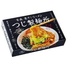 銘店ラーメンシリーズ 青森ラーメン つじ製麺所 (小) 2人前 10セット SP-114