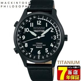 MACKINTOSH PHILOSOPHY マッキントッシュフィロソフィー SEIKO セイコー カーフ メンズ 腕時計 黒 ブラック FCZB997 国内正規品