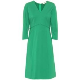 ドロシー シューマッハ Dorothee Schumacher レディース ワンピース ワンピース・ドレス Stretch-crepe dress true green