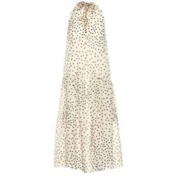 ステラ マッカートニー Stella McCartney レディース ワンピース ワンピース・ドレス Polka-dot cotton and silk dress Cream/Black