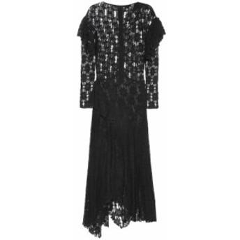 イザベル マラン Isabel Marant. Etoile レディース ワンピース ワンピース・ドレス Vally floral cotton-lace dress Black