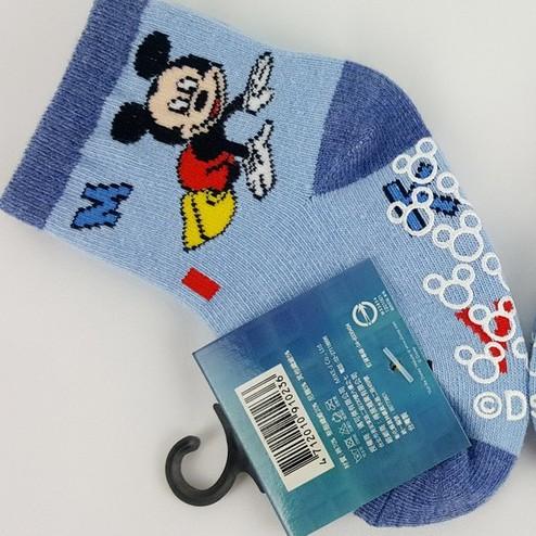 Disney米奇止滑寶寶棉襪-DS263-1 0-12M寶寶適用襪 保證原廠