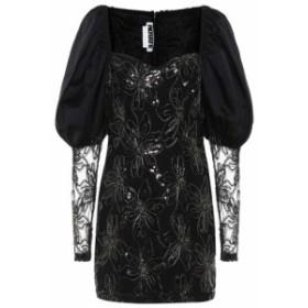 ローテート ROTATE BIRGER CHRISTENSEN レディース パーティードレス ワンピース・ドレス Sequined minidress Black