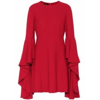 ジャンバティスタ バリ Giambattista Valli レディース パーティードレス ワンピース・ドレス Ruffled crepe minidress Ultra Rouge