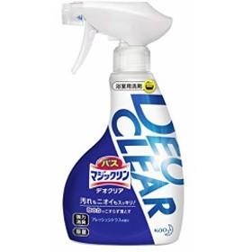バスマジックリン DEOCLEAR(デオクリア) 風呂洗剤 擦らず落とす フレッシュシトラスの香り 本体 380ml