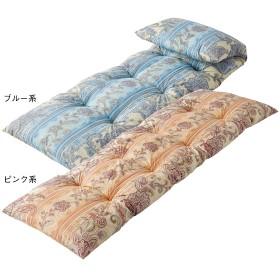 【福袋】◆福袋ごろ寝長座ぶとん2色組 ピンク系・ブルー系 50×150cm
