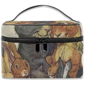 旅行化粧品袋キャバリアキングチャールズスパニエル子犬かわいい大容量化粧品袋収納袋ウォッシュバッグ防水屋外旅行ポータブル