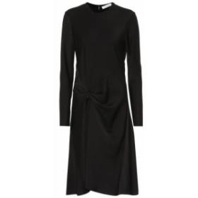 クロエ Chloe レディース ワンピース ワンピース・ドレス Satin crepe dress Black