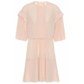 クロエ Chloe レディース ワンピース ワンピース・ドレス Silk crepe de chine minidress Smoky Rose