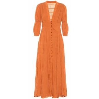 カルト ガイア Cult Gaia レディース ワンピース マキシ丈 ワンピース・ドレス Willow cotton-blend maxi dress Spice