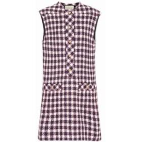グッチ Gucci レディース ワンピース ワンピース・ドレス Wool-blend tweed minidress Multi