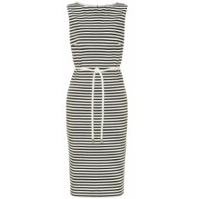 マックスマーラ Max Mara レディース ワンピース ミドル丈 ワンピース・ドレス Comica striped midi dress