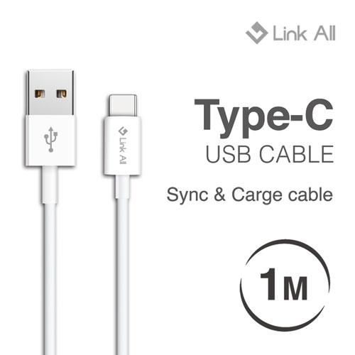 Link All M100 Type-C to USB 公對公 充電傳輸線 USB2.0 1M