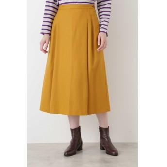 【ヒューマンウーマン/HUMAN WOMAN】 ◆ウールサキソニーストレッチスカート