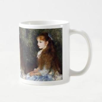 ルノワール『 イレーヌ・カーン・ダンヴェール嬢 』のマグカップ:フォトマグ(世界の名画シリーズ)
