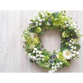 Green garden スズランのナチュラルリース