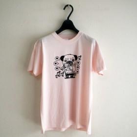 いぬ吉 ペロTシャツ(ピンク)Sサイズ