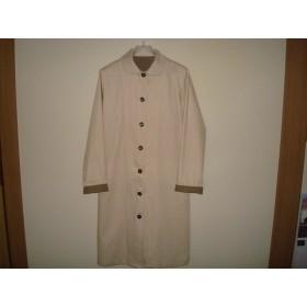 「初秋の装いに*シンプル丸衿コート」