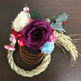 稲から育てたお正月飾り ︎和モダン ︎
