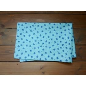 40×60 ランチョンマット ブルー花