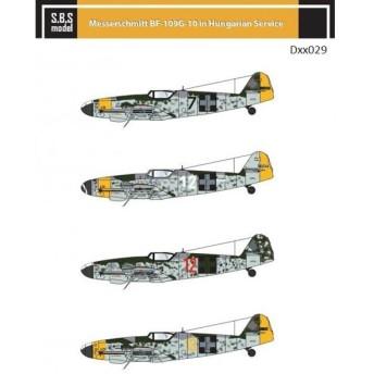 1/72 メッサーシュミット Bf109G-10 「ハンガリー空軍」[SBS]《在庫切れ》