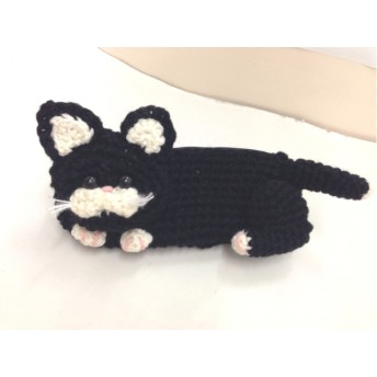 黒猫ペンケース