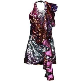 《セール開催中》HALPERN レディース ミニワンピース&ドレス フューシャ 34 ポリエステル 100%