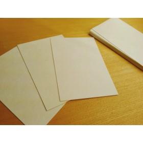 手漉き和紙のポストカード用紙 (生成) 5枚組