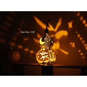 ひょうたんランプ-クリスマスミニlampA