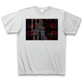 有効的異常症候群赤乱◆アート文字◆ロゴ◆ヘビーウェイト◆半袖◆Tシャツ◆アッシュ◆各サイズ選択可