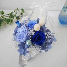 .:: プリザーブドフラワー シンデレラ ガラスの靴.:: 誕生日 退職祝い 結婚祝い 開店祝い 記念日