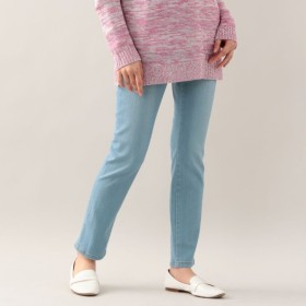 SALE【エヴェックス バイ クリツィア(EVEX by KRIZIA)】 【ウォッシャブル】コットンストレッチパンツ(evex jeans) 【ウォッシャブル】コットンストレッチパンツ(evex jeans) ブルー