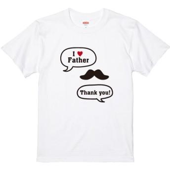 メッセージ・ネーム入れられます!おヒゲデザインTシャツ全4色 S~XXLサイズ