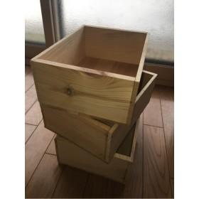オリジナル木箱 3個組 お値下げしました