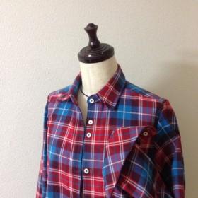 コート風ロングシャツ